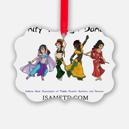 ISAMETD - Unity Through Dance Ornament