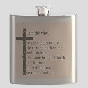 Bible Verse John 15 5 Flask