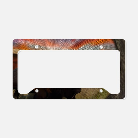buffalo grass dance License Plate Holder