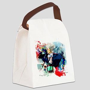 fancy shawl dancer Canvas Lunch Bag