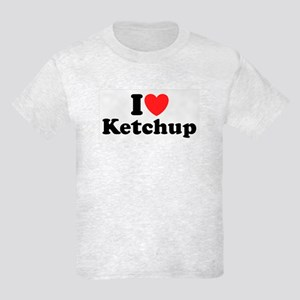 I Love Ketchup Kids Light T-Shirt