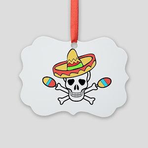 Death Rattle Picture Ornament