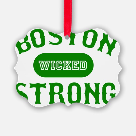 Boston Wicked Strong - Green Ornament