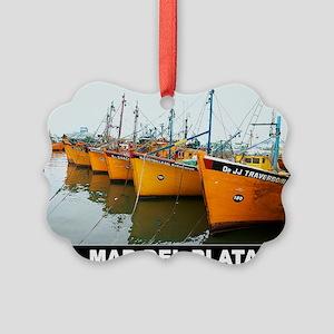 MAR DEL PLATA Picture Ornament
