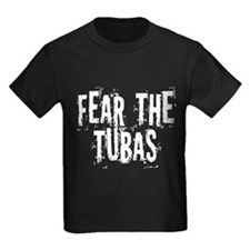 Fear the Tuba Kids Dark T-Shirt