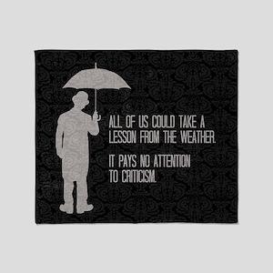 Weather Throw Blanket