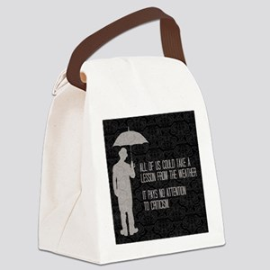 Weather Canvas Lunch Bag