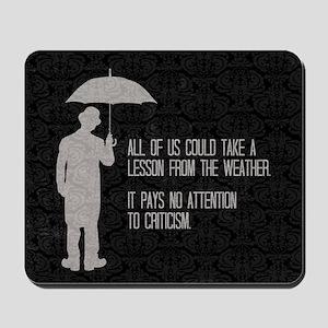 Weather Mousepad