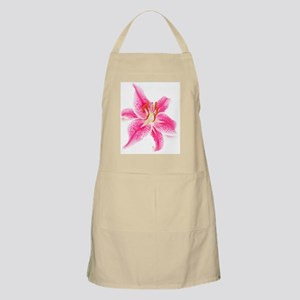 Pretty In Pink Tiger Lily Apron