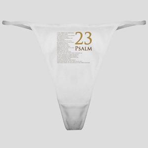 PSA 23 Classic Thong