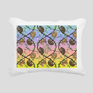 Sloths Rectangular Canvas Pillow