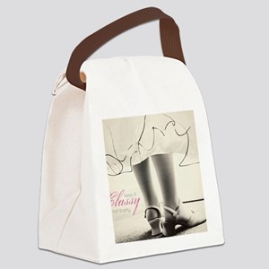 Classy Canvas Lunch Bag