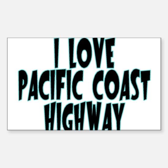 Pacific Coast Highway Decal