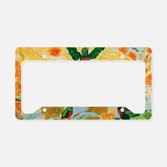 Hummingbirds License Plate Holder