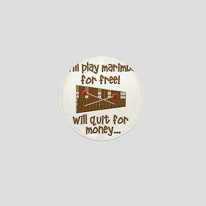 funny marimba Mini Button