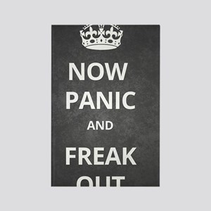Now Panic and Freak Out Poster (G Rectangle Magnet