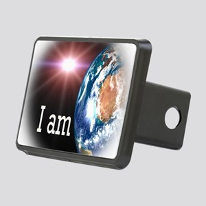 I AM Rectangular Hitch Cover