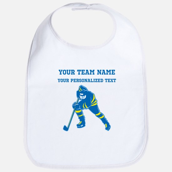 Hockey Baby Bib