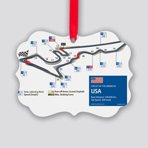 Formula 1 - Circuit of the Americ Picture Ornament