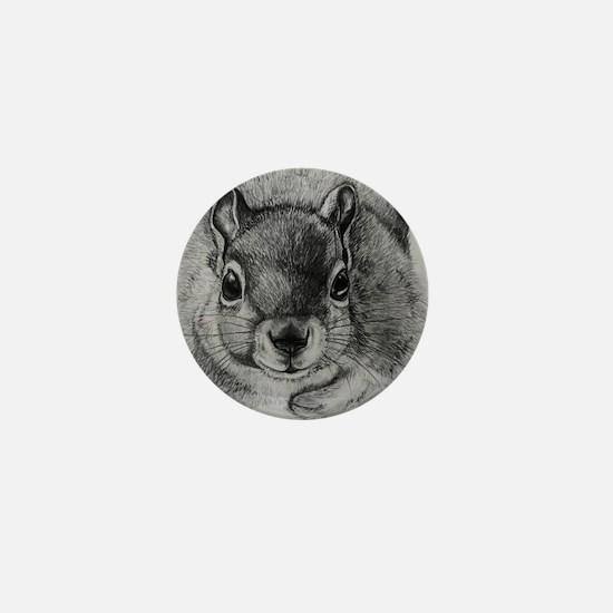 Squrrel Sketch Mini Button
