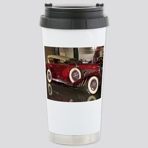 Big Red Car Stainless Steel Travel Mug