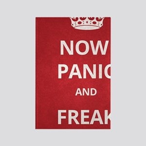 Now Panic and Freak Out Poster (R Rectangle Magnet