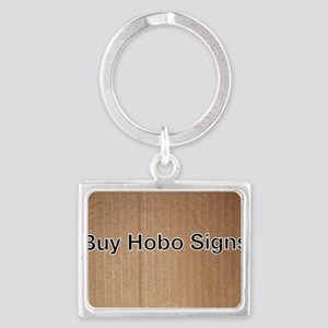 Buy Hobo Signs Official Logo Landscape Keychain