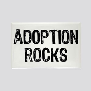 Adoption Rocks Rectangle Magnet
