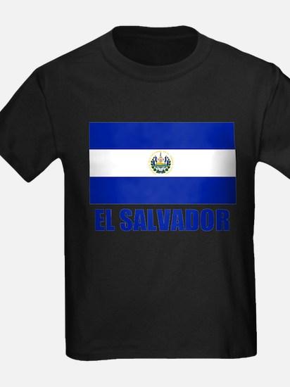 El Salvador Flag T