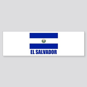 El Salvador Flag Bumper Sticker