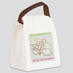 Manic-Depressive Cycle Canvas Lunch Bag