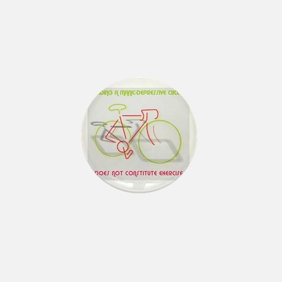 Manic-Depressive Cycle Mini Button