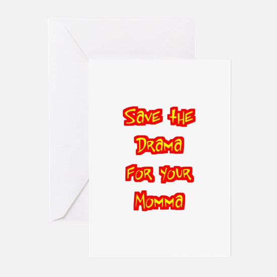 Save the Drama Greeting Cards (Pk of 10)