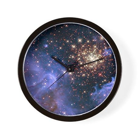 Celestial Fireworks 2 Wall Clock