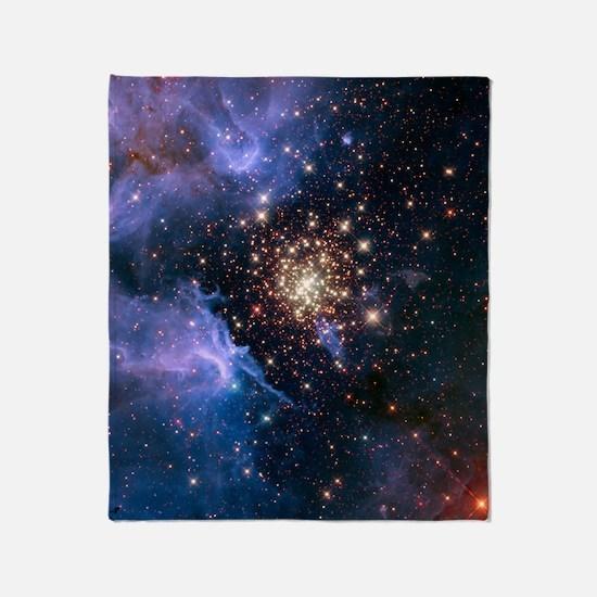 Celestial Fireworks Throw Blanket
