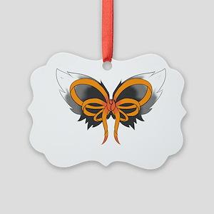MS Ribbon Picture Ornament