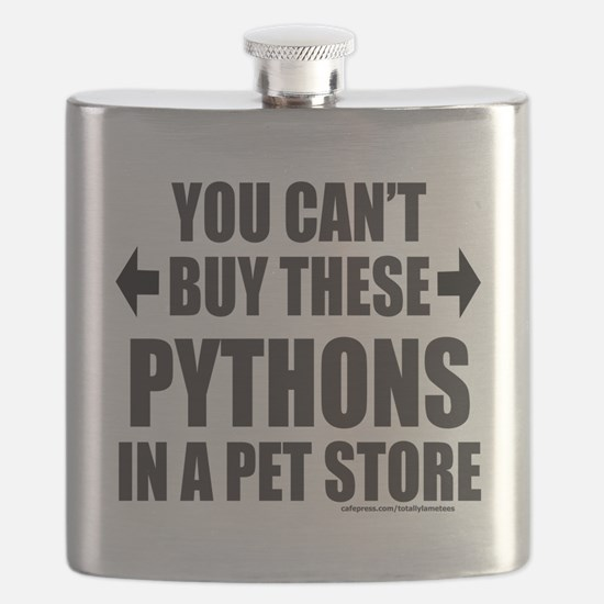 YOU CANT BUY THESE PYTHONS IN A PET STORE Flask