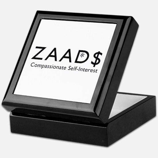 ZAAD$: Compassionate Self-Int Keepsake Box