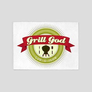 Grill God 5'x7'Area Rug