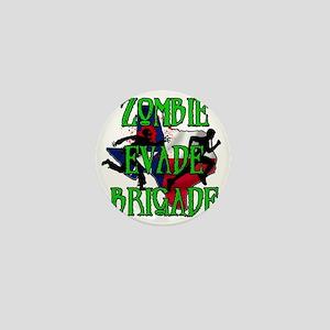 Zombie Evade Brigade Logo Mini Button