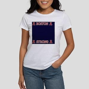 Boston Strong Ribbon Women's T-Shirt
