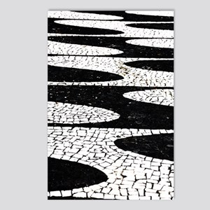 Portuguese pavement Postcards (Package of 8)