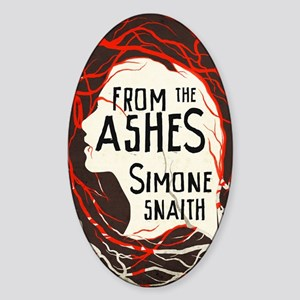 From The Ashes cover Sticker (Oval)