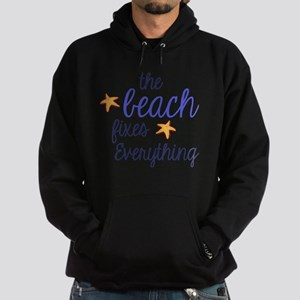 The Beach Fixes Everything Hoodie (dark)