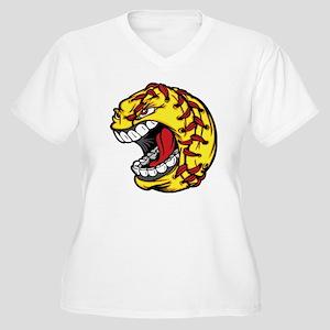 Havoc Screaming S Women's Plus Size V-Neck T-Shirt
