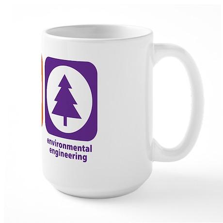 Eat Sleep Environmental Engineering Large Mug