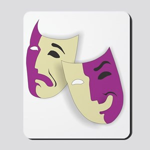 Masks of the Theater Mousepad