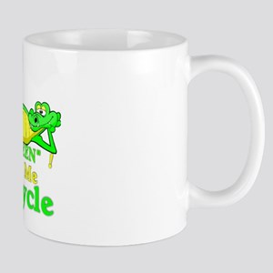 Gators Love To Recycle.:-) Mug
