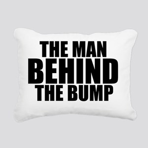THE MAN BEHIND THE BUMP Rectangular Canvas Pillow