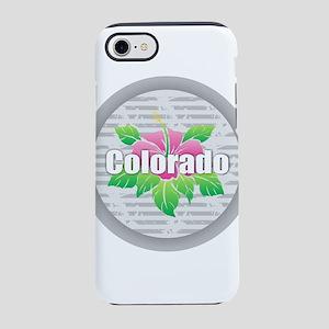 Colorado Hibiscus iPhone 7 Tough Case